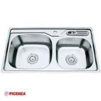 Chậu rửa bát Inox Picenza PZ9 8044B